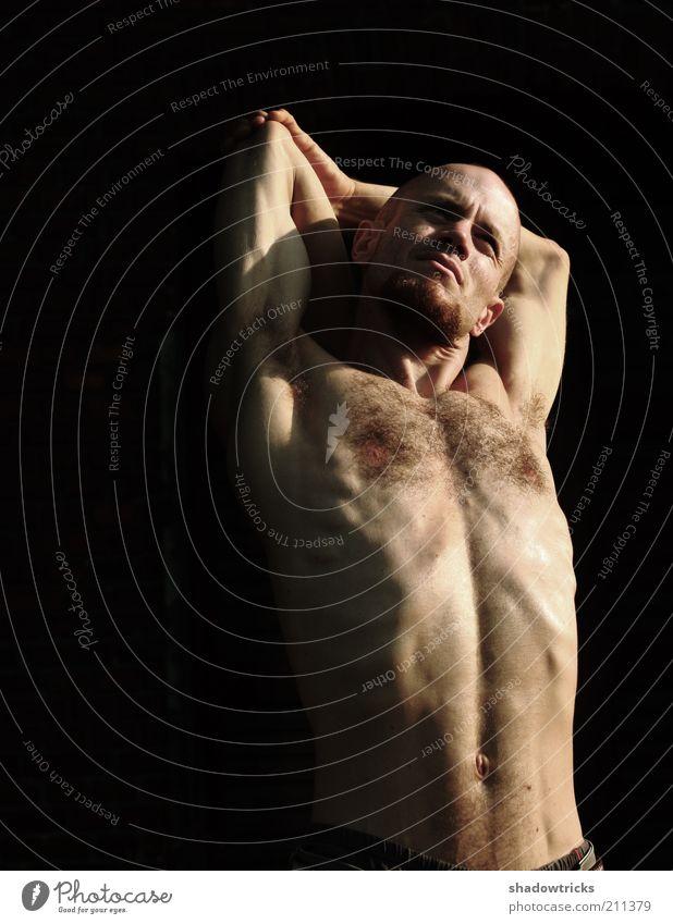 Tilo Mensch Mann schön Erwachsene Erholung Leben nackt Gesundheit Zufriedenheit Körper natürlich maskulin authentisch Lifestyle einzigartig
