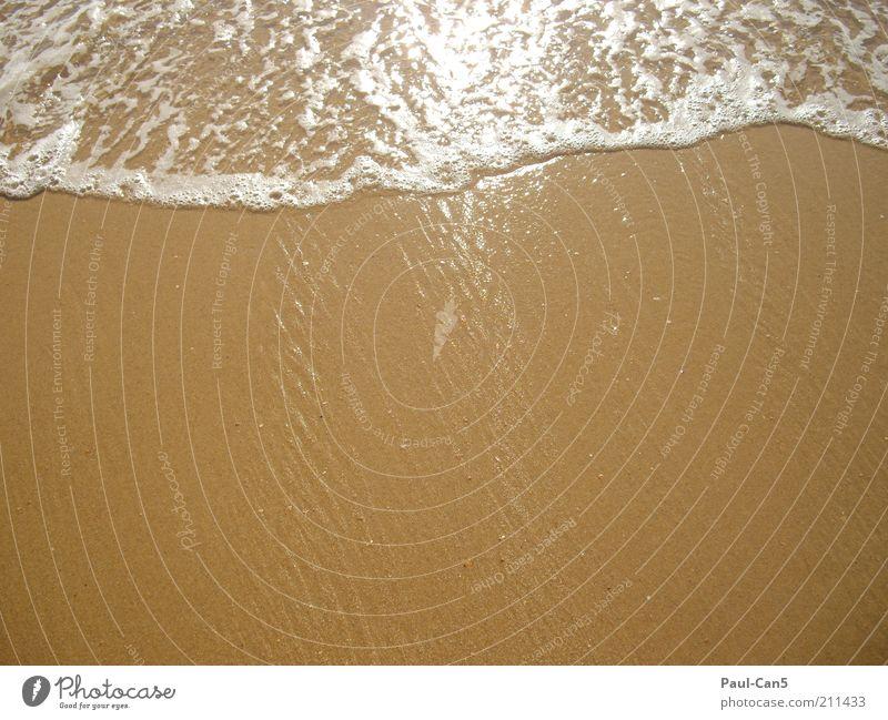 endlich urlaub Freiheit Sommer Sommerurlaub Strand Meer Umwelt Natur Urelemente Sand Wasser Wärme Küste ruhig Sehnsucht Einsamkeit Farbfoto Außenaufnahme