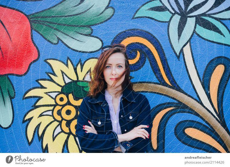 Road Trip // West Coast USA, Portland Mensch Ferien & Urlaub & Reisen Jugendliche Junge Frau Ferne 18-30 Jahre Erwachsene Lifestyle Graffiti natürlich feminin