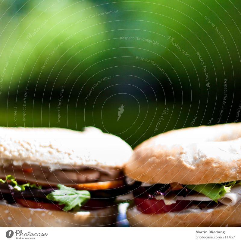 lunchtime Lebensmittel Fleisch Wurstwaren Gemüse Teigwaren Backwaren Brötchen Frühstück Mittagessen Abendessen Picknick Bagel Duft lecker Originalität saftig