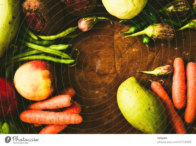 Früchte und Gemüse Lebensmittel Frucht Apfel Kräuter & Gewürze Ernährung Essen Bioprodukte Vegetarische Ernährung Diät frisch Gesundheit gut natürlich saftig