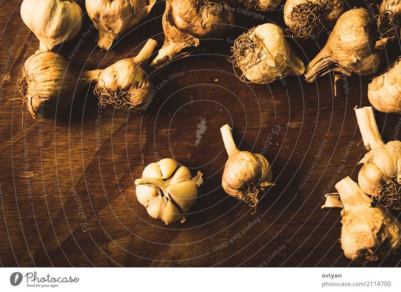 Knoblauch Essen Gesundheit Lebensmittel Ernährung frisch Kräuter & Gewürze Gemüse Bioprodukte Geschmackssinn Vegetarische Ernährung Diät Essen zubereiten