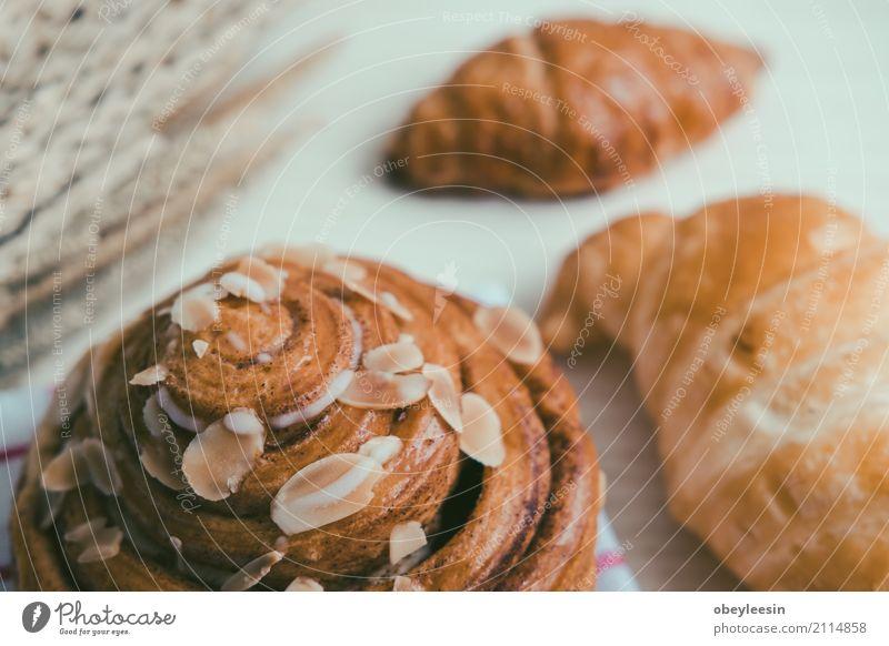 weiß natürlich Holz braun frisch Aussicht Tisch Küche Kaffee Frühstück Tradition Brot Backwaren Abendessen Mahlzeit Top