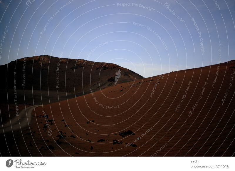 Feuerberge Ferien & Urlaub & Reisen Tourismus Ferne Sommerurlaub Landschaft Erde Berge u. Gebirge Vulkan Nationalpark Timanfaya Montanas del Fuego Insel