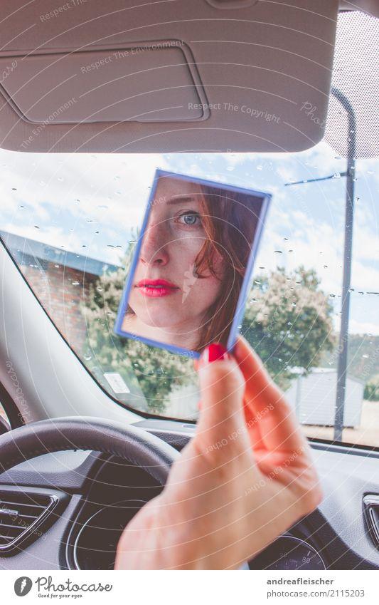 Road Trip // West Coast USA Ferien & Urlaub & Reisen Tourismus Ausflug Ferne Freiheit feminin Junge Frau Jugendliche 1 Mensch 18-30 Jahre Erwachsene rothaarig