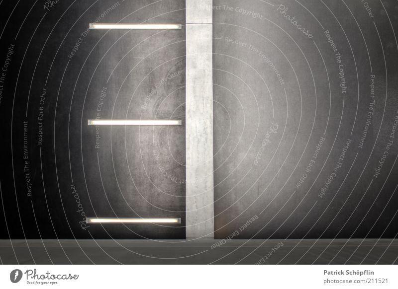 Urbanstyle weiß schwarz kalt Wand grau Mauer Gebäude Architektur Fassade modern ästhetisch trist einfach Streifen fest