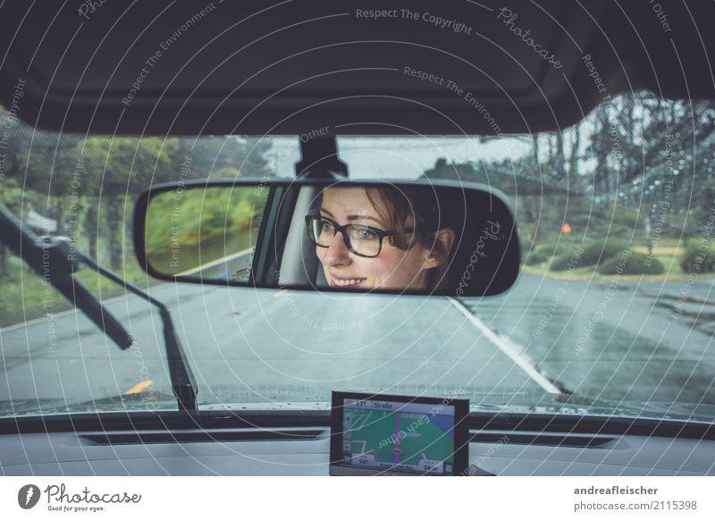 Road Trip // West Coast USA Mensch Ferien & Urlaub & Reisen Jugendliche Junge Frau Sommer Ferne 18-30 Jahre Erwachsene Straße Küste feminin Tourismus Freiheit