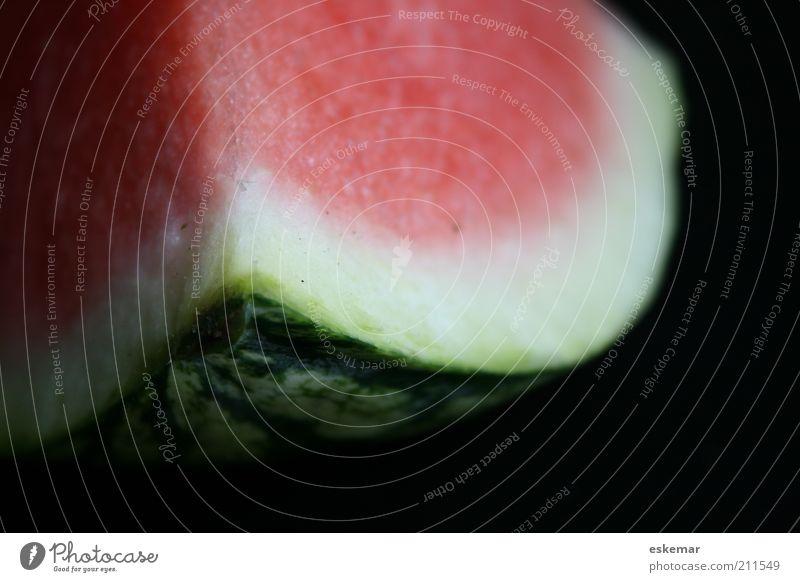 Melone grün rot Ernährung Gesundheit Lebensmittel Frucht süß Kerne Fruchtfleisch fruchtig Detailaufnahme Vegetarische Ernährung Melonen vitaminreich Wassermelone Vollwertkost