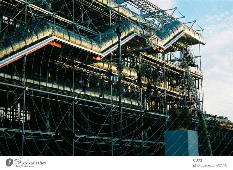 CENTR POMPIDOU 02 Bauwerk Paris Frankreich Centre Pompidou