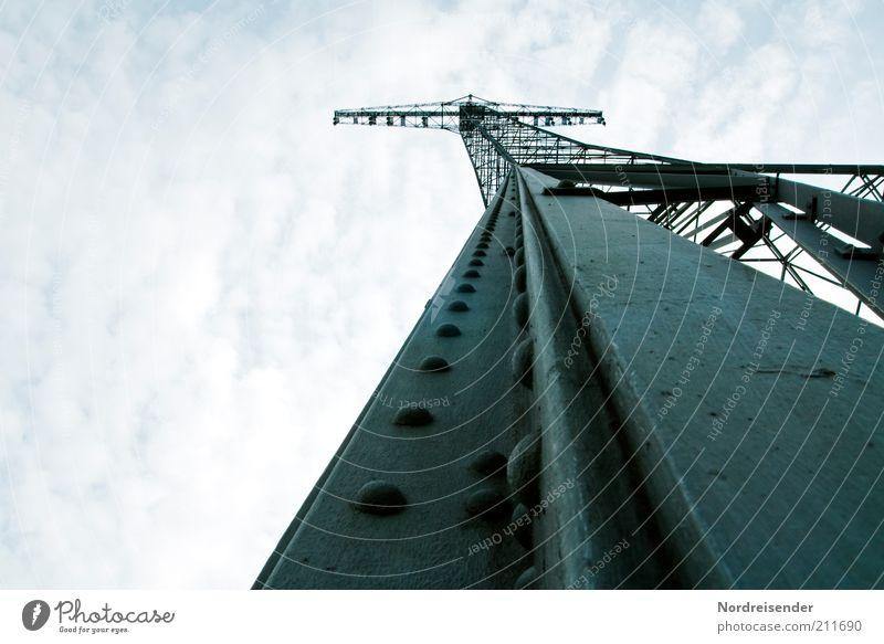 High tech der zwanziger Himmel Ferien & Urlaub & Reisen Architektur Kraft elegant Energiewirtschaft hoch Ausflug ästhetisch Technik & Technologie planen