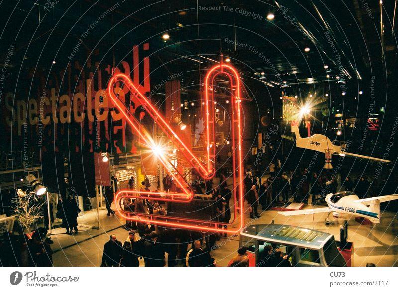 NEON 01 Neonlicht Werbung Licht grell Fototechnik