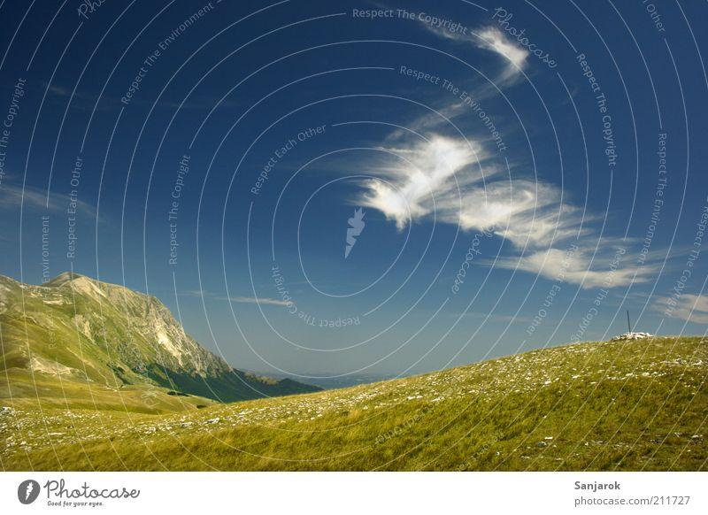 Mountain Spa Natur Sommer Ferien & Urlaub & Reisen ruhig Ferne Erholung Wiese Gras Berge u. Gebirge Frühling Freiheit Landschaft Zufriedenheit Umwelt Tourismus