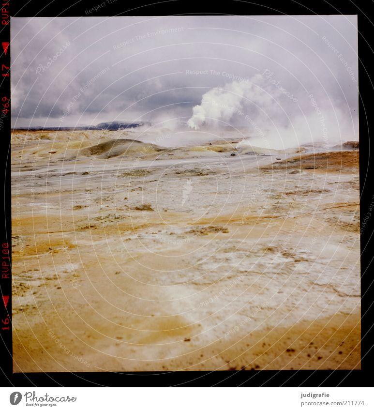 Island Natur Himmel Wolken Wärme Landschaft Stimmung Kraft Umwelt Erde trist Klima wild fantastisch heiß natürlich außergewöhnlich