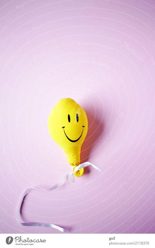 smiley to go Freude Gesicht gelb Gefühle natürlich lachen Glück Feste & Feiern Stimmung Zufriedenheit Geburtstag Lächeln Fröhlichkeit Lebensfreude Jugendkultur