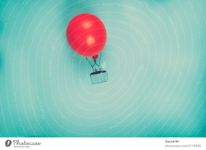 Fluggerät Ferien & Urlaub & Reisen Ausflug Abenteuer Ferne Freiheit Mensch maskulin feminin Familie & Verwandtschaft Paar Partner Leben 2 Kunst Natur Wolken
