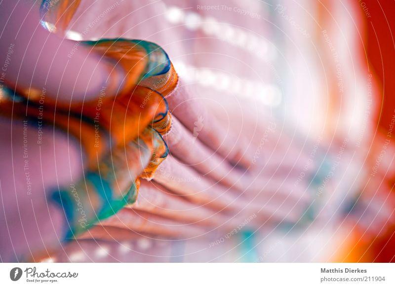 Gardine schön Haus Wohnung rosa ästhetisch Kitsch violett Dekoration & Verzierung Häusliches Leben Stoff gemütlich trendy Jalousie Rollo