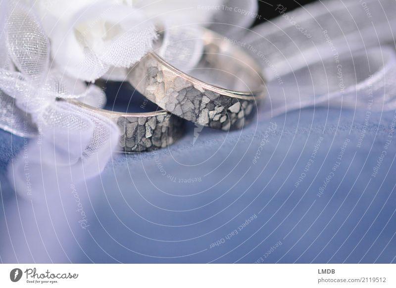 Eheringe Schleife wählen glänzend Liebe Zusammensein Glück rund silber Schmuck Ring Goldlegierung edel teuer Kostbarkeit Versprechen Ehepaar Hochzeit