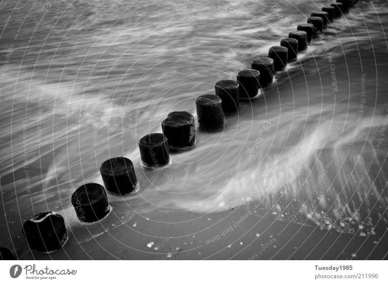 Crosswaves Natur Wasser Meer Sommer Strand ruhig Erholung Herbst Sand Küste Wellen Wind Umwelt Erde Insel Duft