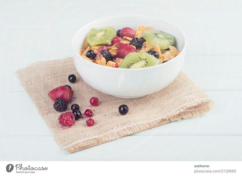 gesundes Frühstück Lebensmittel Milcherzeugnisse Frucht Getreide Dessert Ernährung Mittagessen Vegetarische Ernährung Diät Getränk Schalen & Schüsseln Lifestyle