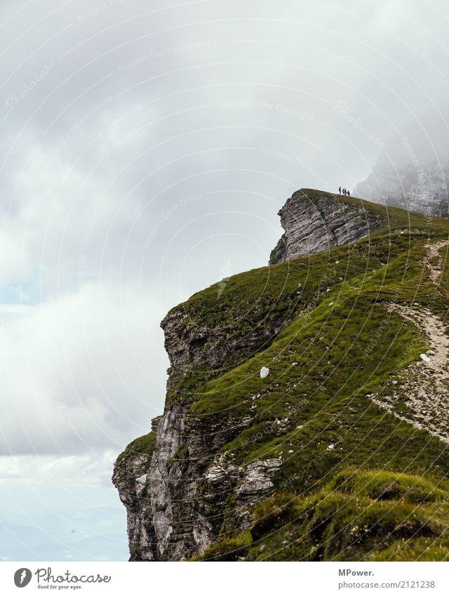 der schmale grat zu mangart Freude Freizeit & Hobby Ferien & Urlaub & Reisen Tourismus Ausflug Abenteuer Ferne Freiheit Sommerurlaub Berge u. Gebirge wandern