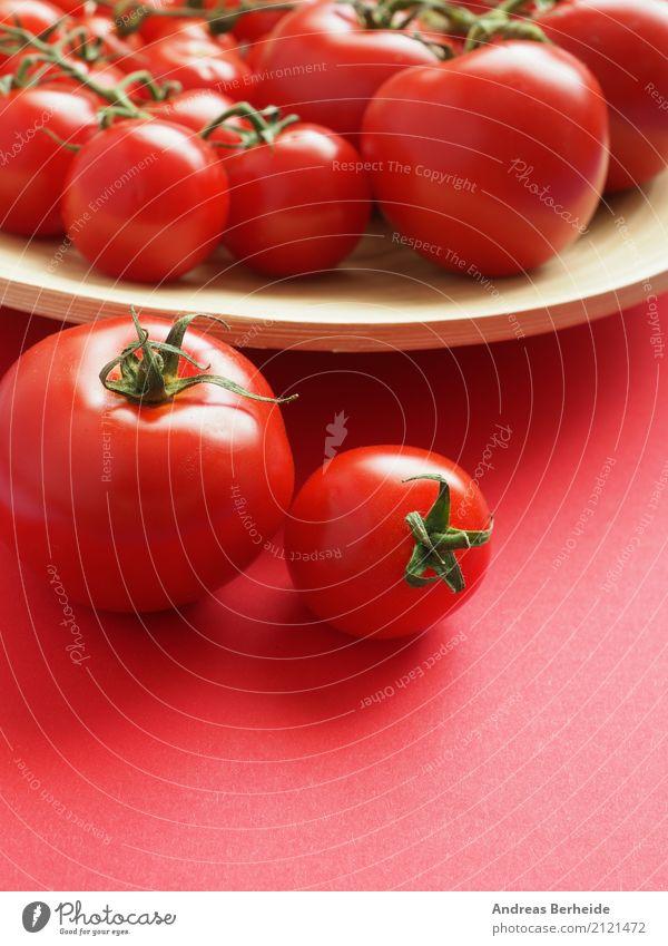 Reife Tomaten Lebensmittel Gemüse Frucht Bioprodukte Vegetarische Ernährung Schalen & Schüsseln lecker saftig health healthy ingredient juicy natural organic