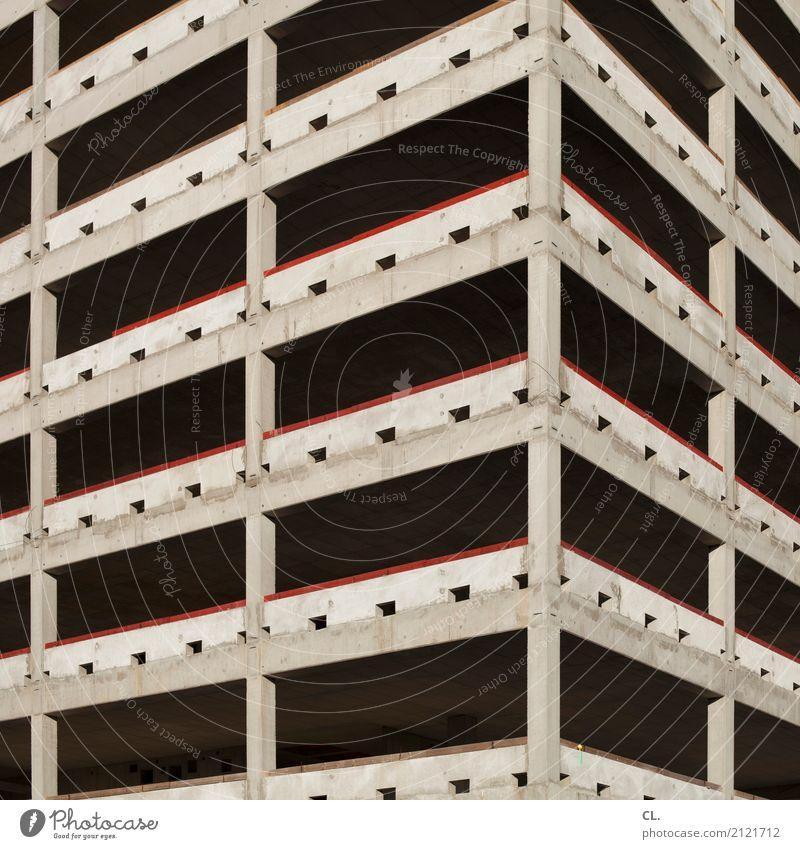 ausschnitt Baustelle Stadt Stadtzentrum Menschenleer Hochhaus Bauwerk Gebäude Architektur Mauer Wand Fassade bauen eckig groß hoch Wachstum Farbfoto