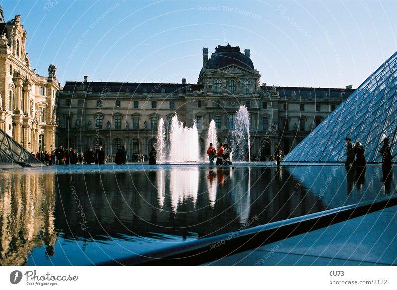 LOUVRE 03 Paris Bauwerk Louvre