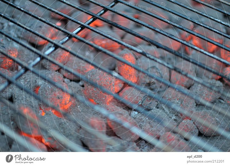 Ich glüh für dich weiß rot Sommer schwarz Wärme Feuer ästhetisch authentisch Freizeit & Hobby heiß leuchten Grillen silber Optimismus