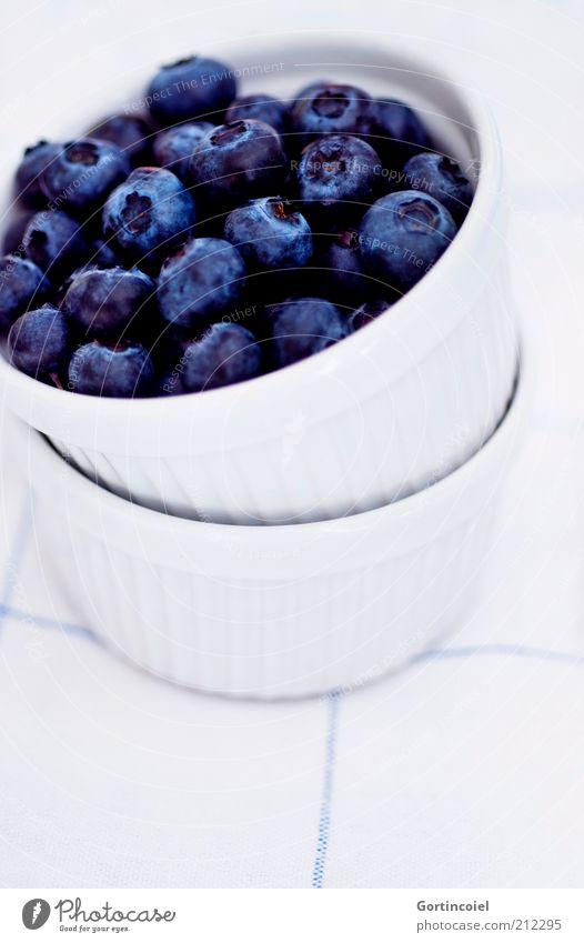Dessert bleu blau Ernährung Gesundheit Lebensmittel Frucht süß lecker Schalen & Schüsseln Beeren Dessert fruchtig Blaubeeren Foodfotografie