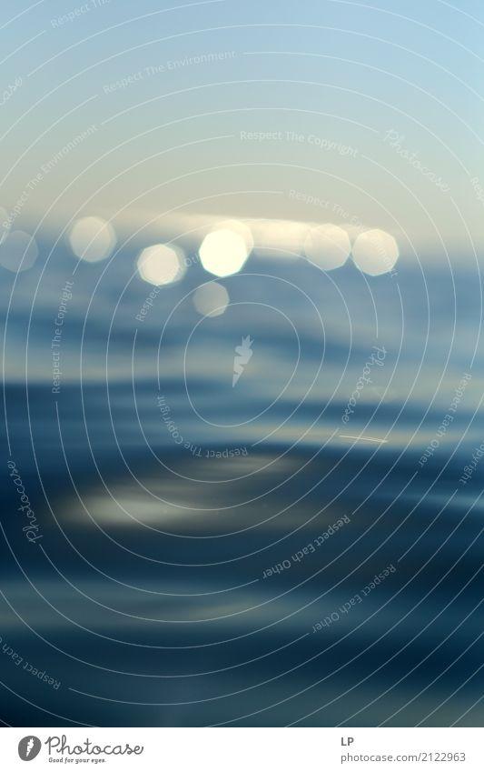 funkelt auf dem Meer Lifestyle Wellness Leben harmonisch Wohlgefühl Zufriedenheit Sinnesorgane Erholung ruhig Meditation Angeln Ferien & Urlaub & Reisen