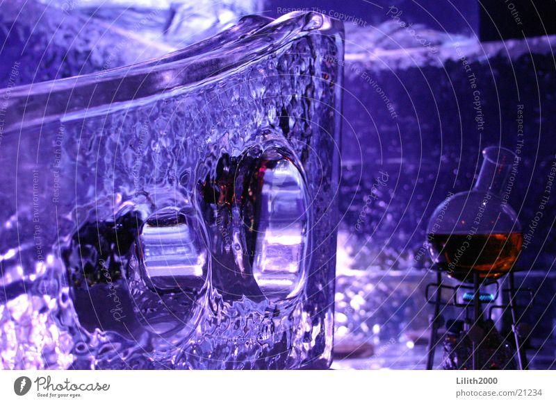 Ice World Bar obskur Eis blau