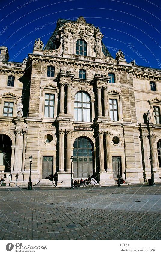 LOUVRE 05 Paris Louvre Bauwerk Architektur