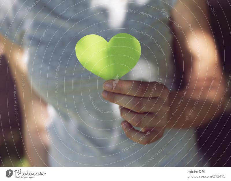 Going Green. Natur grün Liebe Umwelt träumen Gesundheit Zufriedenheit Herz Hoffnung Vergänglichkeit festhalten Frieden Vertrauen Glaube Werbung zeigen