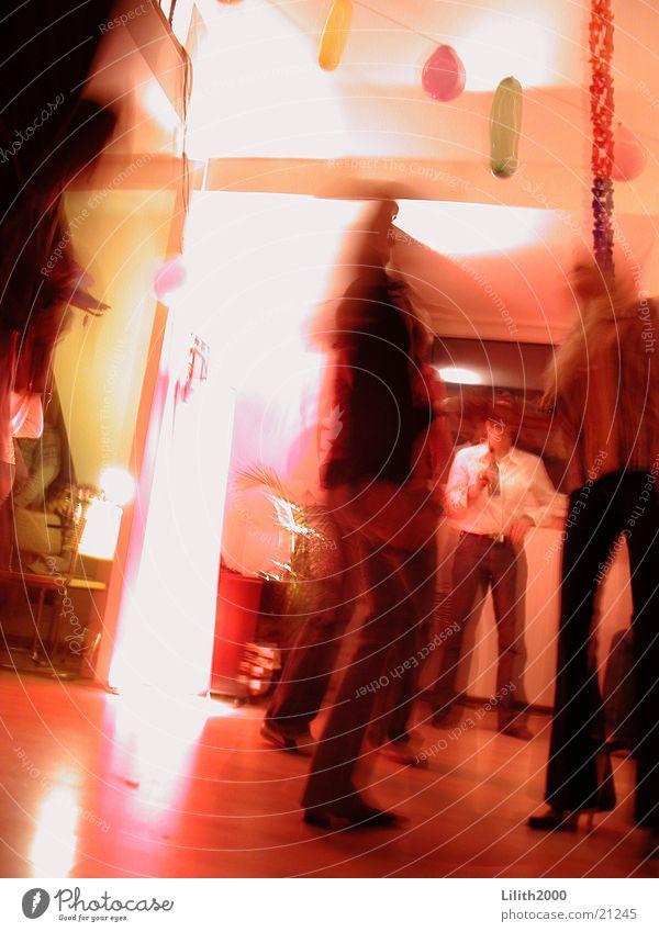 Let's dance! Party Wohnung Mensch Freizeit & Hobby Ampel Tanzen Tänzer Partygast