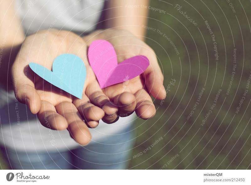 Zweisam. Kunst ästhetisch Zufriedenheit Yin und Yang Zusammensein Zusammenhalt 2 Liebe Liebespaar Liebesbekundung Liebeserklärung Liebesleben Liebesgruß
