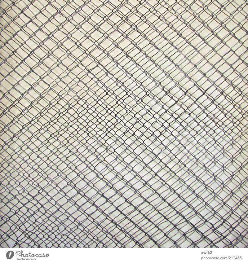 Interferenz Metall Draht Gitter Maschendraht Drahtgitter drahtig hintereinander Gitternetz