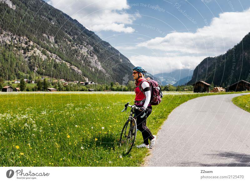 erstmal Pause Ferien & Urlaub & Reisen Jugendliche blau Junge Frau schön grün Erholung 18-30 Jahre Erwachsene natürlich Sport rosa Freizeit & Hobby Ausflug