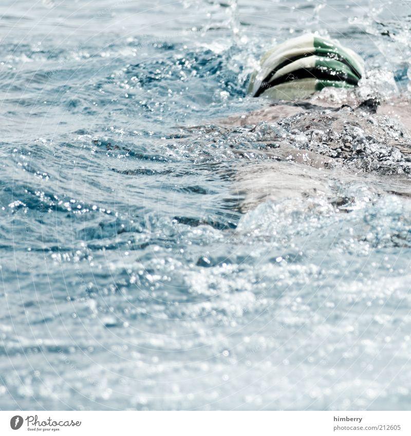 aquaman schön Schwimmen & Baden Sport Fitness Sport-Training Wassersport Sportler Mensch Leben 1 Kraft Leistung ehrgeizig Willensstärke Ausdauer Badekappe
