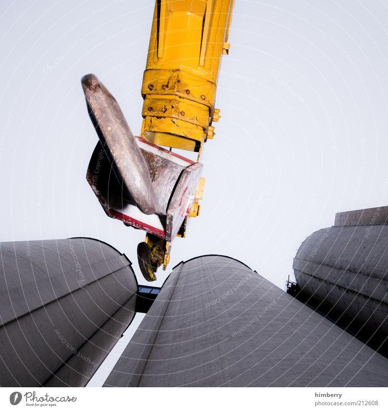 abschlepptechnik Arbeit & Erwerbstätigkeit Beruf Baustelle Industrie Dienstleistungsgewerbe Handwerk Maschine Fortschritt Zukunft Industrieanlage Bauwerk