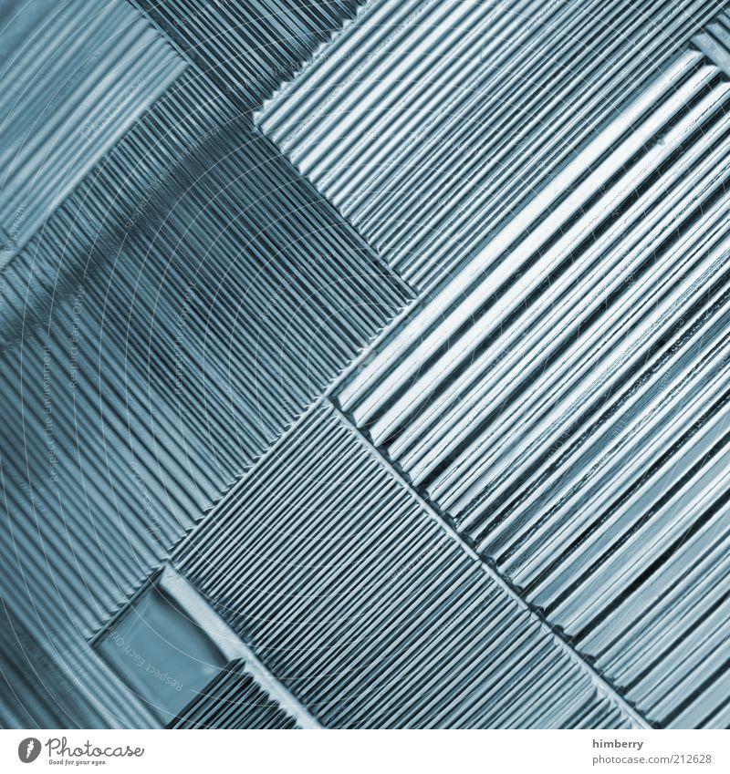 bulletproof Stil Linie Metall Kunst Design Industrie Zukunft Technik & Technologie Baustelle Wissenschaften Stahl Handwerk Kunststoff Grafik u. Illustration diagonal abstrakt