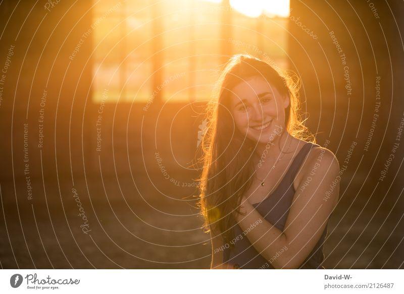 bezaubernd Lifestyle elegant Stil Freude Glück schön Gesundheit Student Mensch feminin Junge Frau Jugendliche Erwachsene Leben 1 Lächeln lachen Gefühle