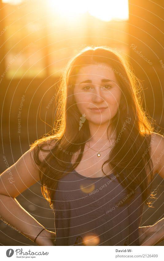 selbstbewusst Mensch Frau Ferien & Urlaub & Reisen Jugendliche Junge Frau schön Haus 18-30 Jahre Erwachsene Leben Lifestyle Innenarchitektur Gesundheit feminin