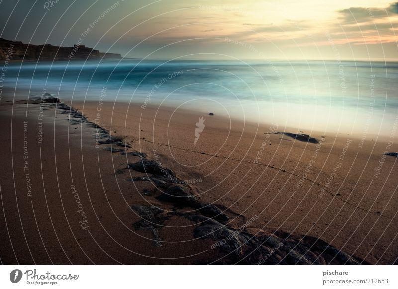 ribeira d'ilhas Ferne Sommer Strand Meer Urelemente Sand Wasser Himmel Sonne Sonnenaufgang Sonnenuntergang Küste ästhetisch außergewöhnlich exotisch Flüssigkeit