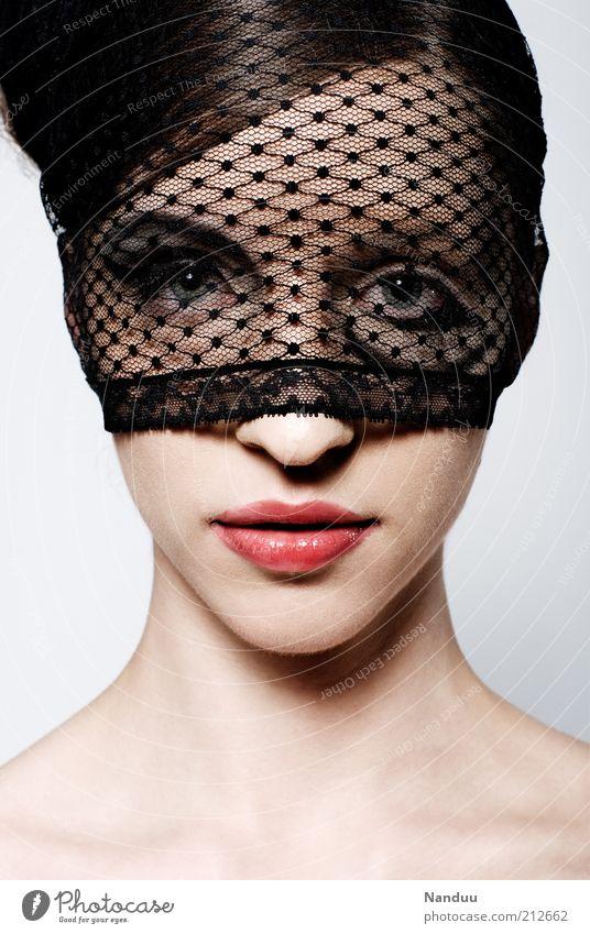 see the beauty of the world with your own eyes Mensch Jugendliche schön Gesicht Erwachsene feminin Stil elegant Haut außergewöhnlich 18-30 Jahre Kosmetik