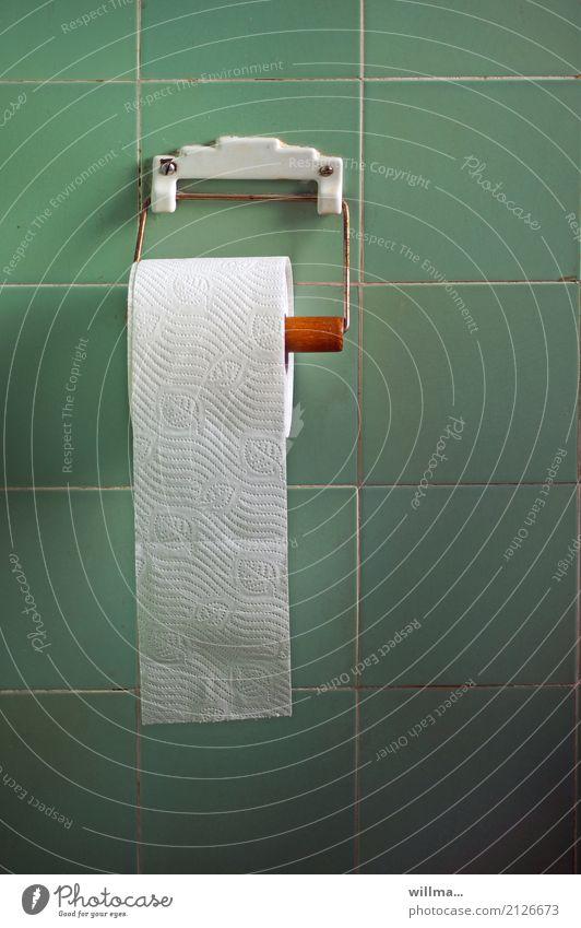 Toilettenpapier Klopapierhalter Fliesen u. Kacheln Nostalgie Strukturen & Formen Wand Rolle Muster weiß Körperpflegeutensilien Perforierung Verdauungsystem