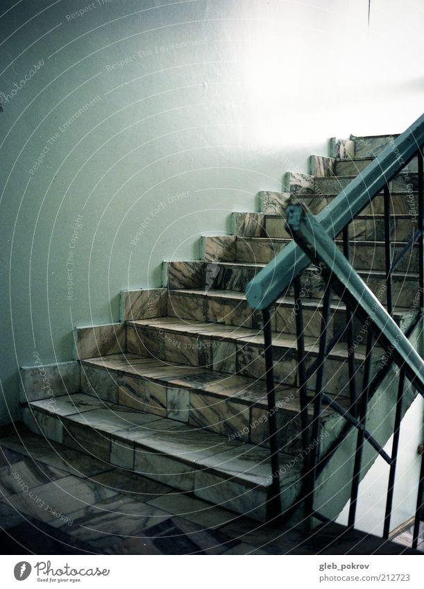 Leben Wand Mauer Architektur Treppe Gebäude Profi dokumentarisch