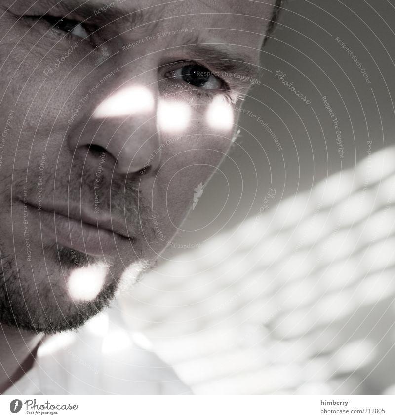 roy lichtenstein Mensch Mann ruhig Erwachsene Gesicht Auge Gefühle Kopf Haare & Frisuren Mund Haut maskulin Nase 18-30 Jahre Bart Mut