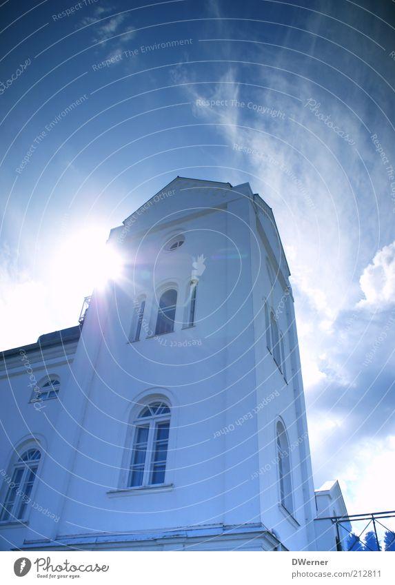 Heiligendamm Himmel Sonne Ferien & Urlaub & Reisen Sommer Wolken Haus Erholung Fenster Wand Umwelt Architektur Gebäude Mauer elegant glänzend Fassade