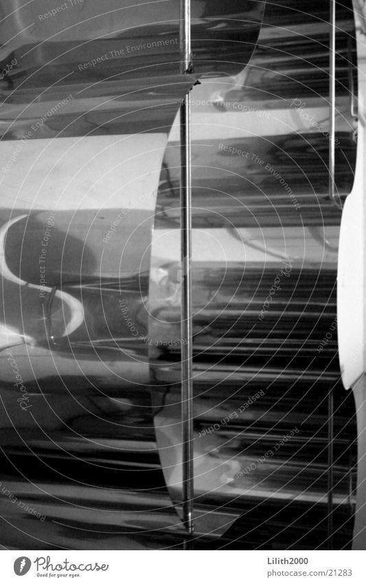 Perfekte Welle Dekoration & Verzierung Wellen Bühne Spiegel obskur silber Schwarzweißfoto
