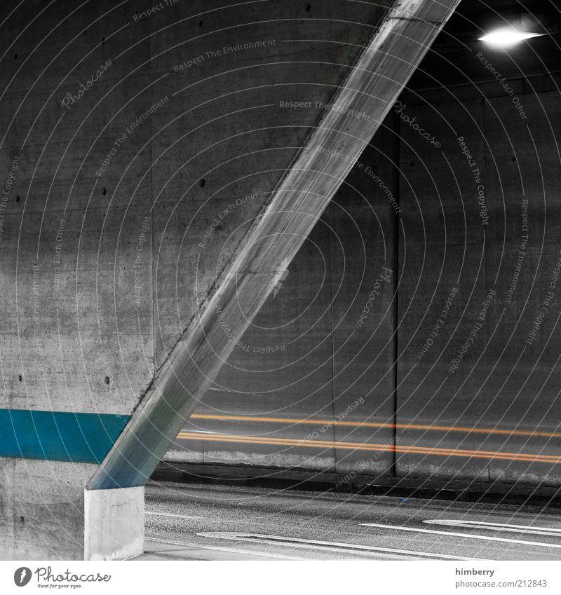speedway Baustelle Tunnel Parkhaus Bauwerk Gebäude Architektur Mauer Wand Verkehr Straßenverkehr Wege & Pfade Bewegung Geschwindigkeit modern Wachstum